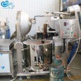 Precios baratos de sal de gran capacidad de cacahuetes recubiertos de castañas de Cajú nueces almendras hacer máquina de procesamiento de fritura de tostado