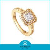 Comercio al por mayor anillos de boda joyas chapado en oro para la Mujer (SH-R0329)