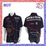 Concevoir la chemise de polo sublimée de club de vêtements de sport