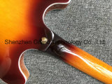 Semi de corps creux Jazz ES-339 petite guitare électrique dans la solarisation (TJ-276)