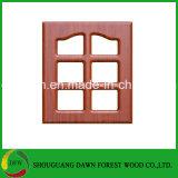 Armario de cocina armario de piezas de película de PVC puertas MDF núcleo puerta del armario de cocina