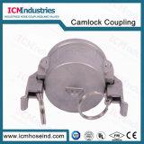 Koppeling Camlock van het Type gelijkstroom van roestvrij staal de Zelfsluitende