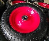 4.00-10 Roda de espuma de borracha maciça para carregar a máquina