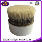 Material misturado do cabelo do texugo usado para a escova de rapagem