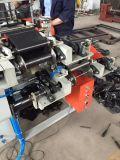 Automatischer zwei Schicht-Sortierfach-Beutel, der Maschinen-Abfall Plastiktasche bildet