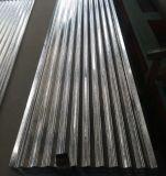 die gerunzelten das 0.14mm Dach-Fliesen galvanisierten Stahlblech im Ring