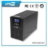 220VAC 3kVA/2400W 팬과 빛을%s 1 단계 온라인 UPS