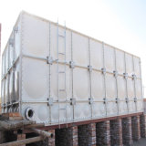 FRP GRP контейнер для воды бак для хранения дождя и освещенности