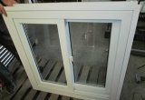 Une conception commune white Couleur du cadre en alliage aluminium avec vitre coulissante de Crescent verrouiller
