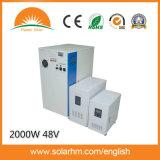 (TNY20248-50) 2000W 48V 50A generador solar de la serie 3 en el armario de 1