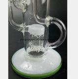 12.2 pouces de l'eau du filtre en verre de tuyau flexible de récupération du tabac