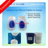 Rubbber de silicone com qualidade alimentar para fabricação de palmilha