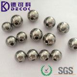 Bolas de acero inoxidables sólidas perforadas G10-G1000 2 del agujero