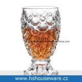 235ml魚のテール形のゆとりガラスビールコップ