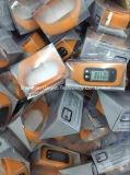 2016 de silicona baratos Nueva podómetro contador de calorías reloj de pulsera