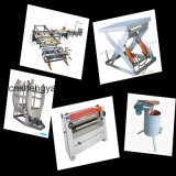 Madera contrachapada automática llena que hace máquina a tarjeta multi de la capa máquina caliente de la prensa