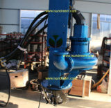 Vertikaler versenkbarer hydraulischer Bewegungsausbaggernde Pumpe ISO9001 bestätigt