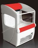 Mini congelatori della memoria per il supermercato con il sistema di raffreddamento dell'aria