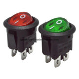 UL/CQC/ENEC LED 둥근 로커 스위치