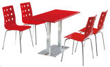 Hot Sale Restaurant Table et chaise Table et chaise de meubles de la Cantine