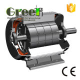 900kw 900tr/min Régime bas 3 PHASE AC Alternateur sans balai, générateur à aimant permanent, haute efficacité Dynamo, aérogénérateur magnétique