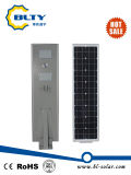 luz de calle solar integrada de 50W LED