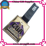 Medaglia del metallo con il medaglione di marchio 3D