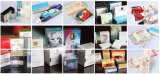 Máquinas automáticas de embalagem de embalagens de pequenas caixas com celofane / BOPP Apropriado para cosméticos / cartões de cigarro / jogo / Candom / Medicina / Produtos de cuidados de saúde