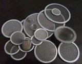 Filtro de acero inoxidable de varias formas de discos multi-capa de una sola capa