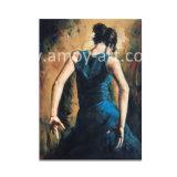 La reproducción de obras de arte bailando Dama por Fabian Perez