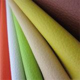 Couro do Synthetic do PVC de matérias têxteis por atacado de China & dos produtos de couro