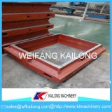 Linha de molde elevada caixa do equipamento da fundição da produção de molde usada para a fundição
