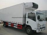 6 Räder Isuzu frische Nahrungsmitteltransport-LKW 7 Tonnen Kühlraum-LKW-