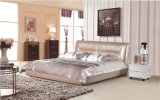 حديثة جلد [برووم] سرير