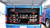 121kwh電気バスのためのスマートなリチウム電池のパック