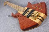 Шея басовой гитары 5 шнуров электрическая через тело (GB-16)