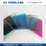 La sûreté en gros de construction a teinté le prix bon marché en verre d'impression en verre de Digitals coloré par glace