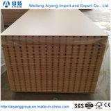 Heißer verkaufenc$verunreinigung-beweis gekerbter MDF für Möbel/Dekoration/Verpackung