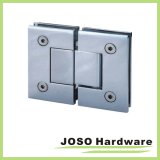 Glass to Glass Brass Genebra Series Mount Shower Door Hinge