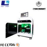 máquina de cristal gravada laser do laser dos presentes 3D