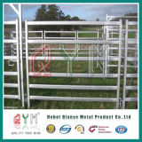 Сваренный типовой конструкцией строб пробки трубы загородки лошади 5-Bar