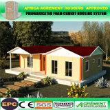 Casa Prefab personalizada modular pré-fabricada do quarto dobro da casa do recipiente