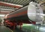 45KL citerne du camion remorque citerne en acier inoxydable 304 semi-remorque