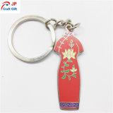 Kundenspezifische Qualitäts-chinesische Art-Metallschlüsselkette