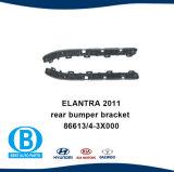 Soporte de paragolpes trasero 86613-386614-3X000 X000 para Hyundai Elantra 2011
