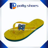 Suola della gomma di gomma piuma di EVA di comodità dei sandali della farfalla di cadute di vibrazione delle donne