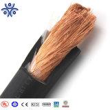 Schweissendes elektrisches Isolierkabel der Qualitäts-4/0AWG Gummi