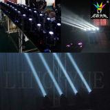 Stage DMX 4-em-1 LED Moving Head Raio de Luz