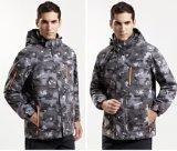 Moderne Mens-Druck-Bergsteigen-Jacke