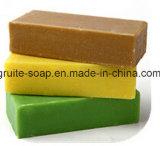 Мыло мытья руки надувательства зеленого, желтого качества цвета превосходного горячее